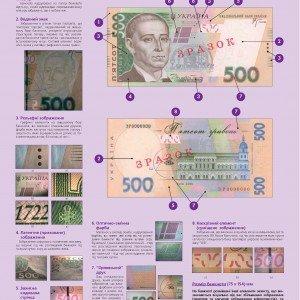 Банкнота номіналом 500 гривень